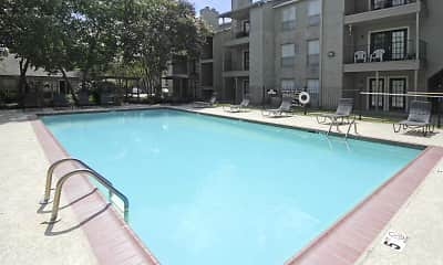 Pool, Sherwood Place Apartments, 1