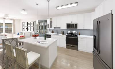 Kitchen, The Residences at The Promenade at Upper Dublin, 2