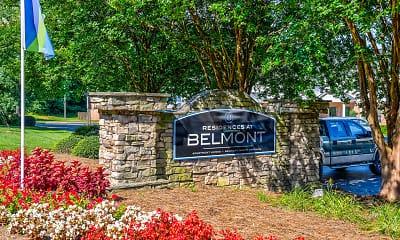 Community Signage, Residences at Belmont, 2