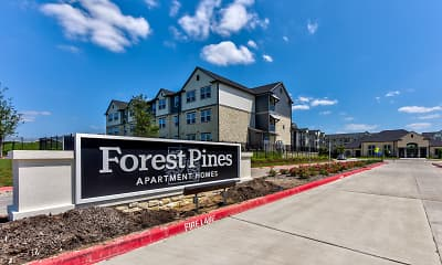 Community Signage, Forest Pines Apartments, 2