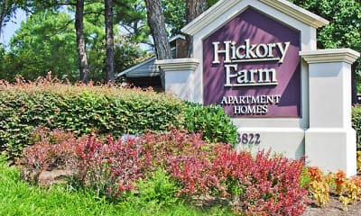 Community Signage, Hickory Farm, 0