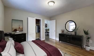 Bedroom, Avondale Apartments, 1