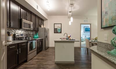 Kitchen, Orchid Run Apartments, 0