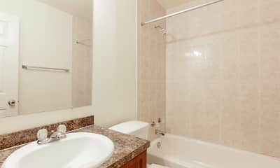 Bathroom, Newton Woods & Colony Oaks Apartments, 2