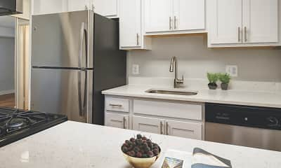 Kitchen, Foxchase Apartments, 0