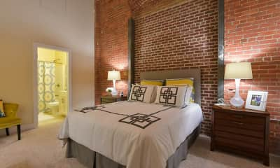 Bedroom, West Village, 1