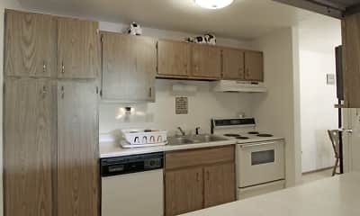 Kitchen, Wintergreen Apartments, 2