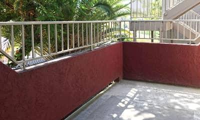 Patio / Deck, Hillside Terrace Apartments, 2