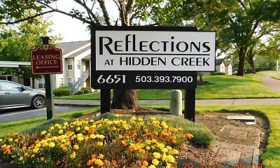 Community Signage, Reflections at Hidden Creek Apartments, 0