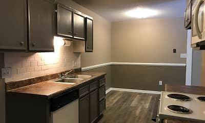 Kitchen, Oakridge Place Apartments, 1