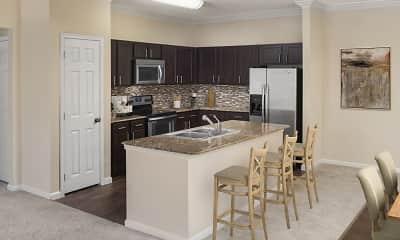 Kitchen, Camden Riverwalk Apartments, 0