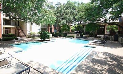 Pool, Woodchase Apartments, 0