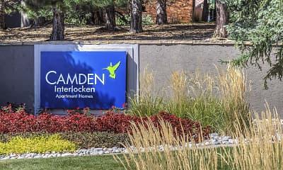 Community Signage, Camden Interlocken, 2