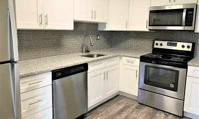 Kitchen, Place One Apartment Homes, 0