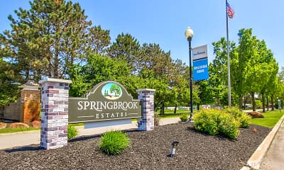 Community Signage, Springbrook Estates, 2