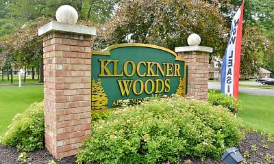 Community Signage, Klockner Woods & Crestwood Square Apartments, 2
