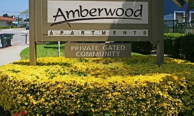 Community Signage, Amberwood, 2