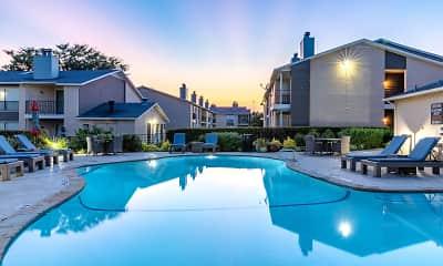 Pool, Prestonwood Apartment Homes, 1
