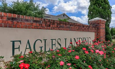 Community Signage, Eagles Landing Luxury Apartments, 2