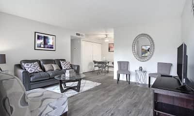 Living Room, Gramercy Parc Senior Apartments, 0