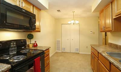 Kitchen, Belmont Ridge Apartments, 1