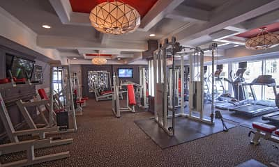 Fitness Weight Room, Sandpiper Apartment Homes, 0