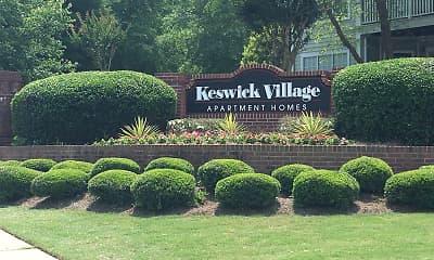 Community Signage, Keswick Village, 0
