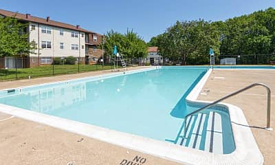 Pool, Lantern Hill Apartments, 0