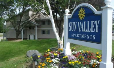 Community Signage, Sun Valley Apartments, 0