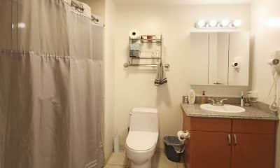 Bathroom, Allegro Towers, 2