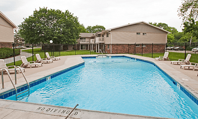 Pool, Buffalo Creek Apartments, 2