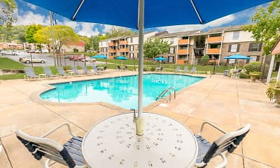 Pool, Crestwood Green at 701 Apartments, 1