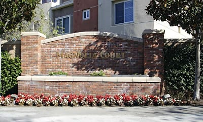 Community Signage, Magnolia Court Townhomes, 2