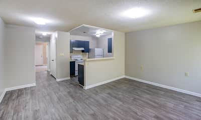 Living Room, Residences at Haymount, 0