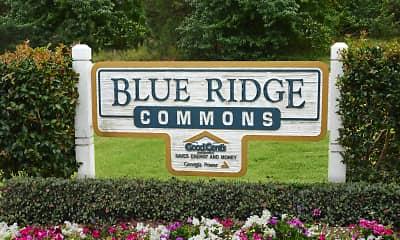 Community Signage, Blue Ridge Commons, 1