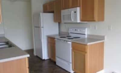 Kitchen, Rock Springs Apartments, 1