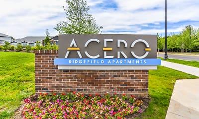 Community Signage, Acero Ridgefield, 2