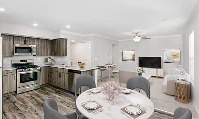 Kitchen, Thrive at Creekside, 0