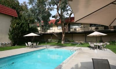 Pool, Orange Plaza Apartments, 1