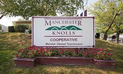 Community Signage, Manchester Knolls, 2