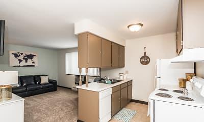 Kitchen, Valley Park Apartments, 2