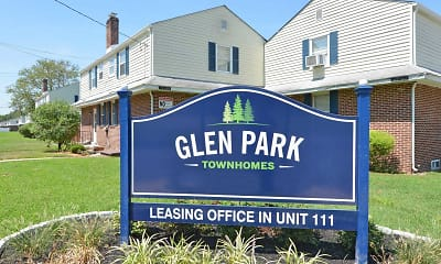 Community Signage, Glen Park Townhomes, 2