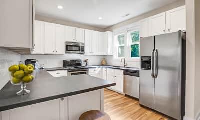 Kitchen, Myrtle Landing Townhomes, 0