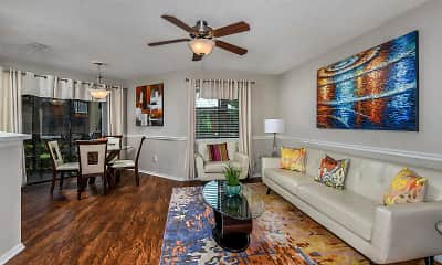 Living Room, Winthrop West Apartment Homes, 1