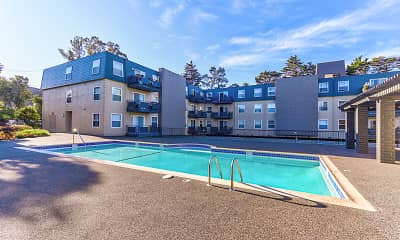 Pool, Skycrest Apartments, 0