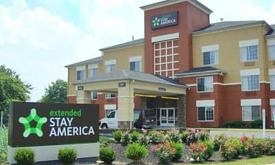 Building, Furnished Studio - Meadowlands - East Rutherford, 0