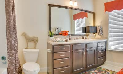 Bathroom, Riverstone Apartments, 0