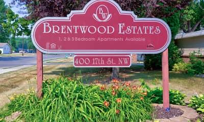 Community Signage, Brentwood Estates, 2