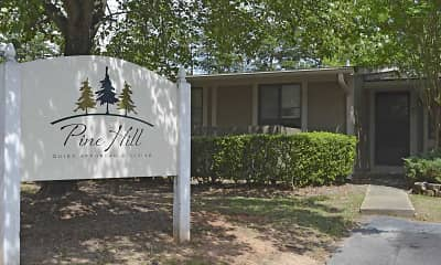 Community Signage, Pine Hill Places Apartments, 0
