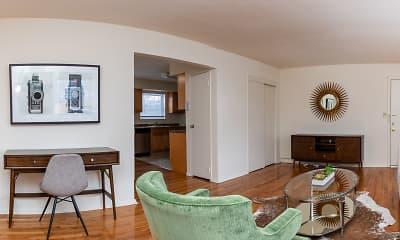 Living Room, Westwood Hills, 1